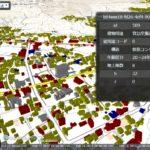茅野市の建物3Dモデル